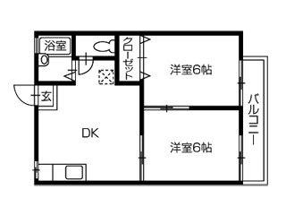 徳島市末広2 アパート