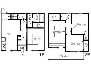 徳島市名東町1-106-1 タウンハウス