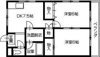 小松島市間新田町 アパート