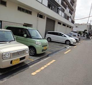 松岡マンション駐車場