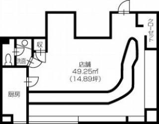 倉敷市阿知3丁目 -店舗