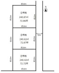 玉野市木目 土地-240.42m<sup>2</sup>