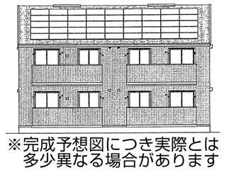 岡山市北区田中 2LDKコーポ