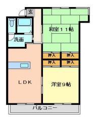 徳島市沖浜東 2LDKマンション