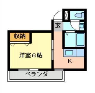 徳島市佐古三番町 1Kマンション