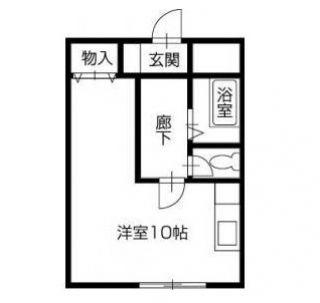 徳島市福島 1Rマンション