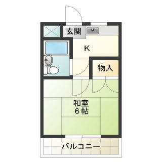 小松島市横須町 1Kマンション