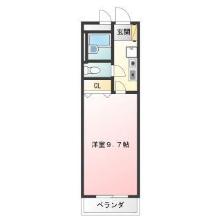 徳島市福島 1Kマンション