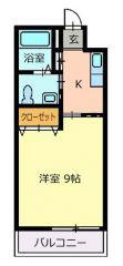 徳島市昭和町 1Kマンション