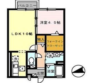 徳島市住吉 1LDKアパート