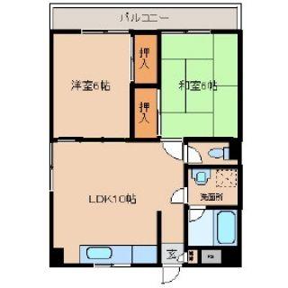 小松島市小松島町 2LDKマンション