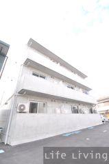 徳島市北田宮 1DKアパート
