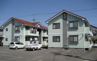 徳島市北矢三町 2DKアパート