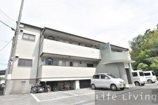 徳島市八万町(法花) 2DKアパート