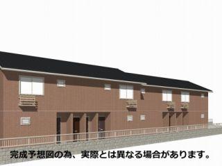 徳島市八万町(法花谷) 1LDKアパート