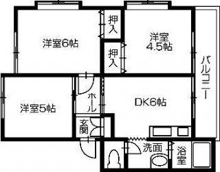 さぬき市大川町 3DKコーポ