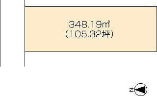 坂出市谷町 土地-348.19m<sup>2</sup>