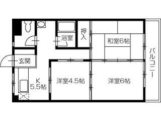 さぬき市志度 3Kマンション
