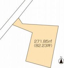 丸亀市津森町 土地-271.85m<sup>2</sup>