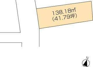 丸亀市中府町 土地-138.18m<sup>2</sup>