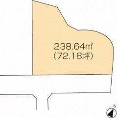 高松市国分寺町福家 土地-238.64m<sup>2</sup>