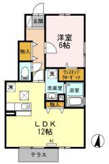 さぬき市志度 1LDKアパート