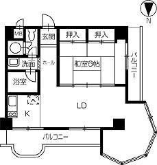 レイクサイド塩江マンション