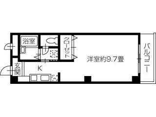 新居浜市喜光地町 1Kアパート