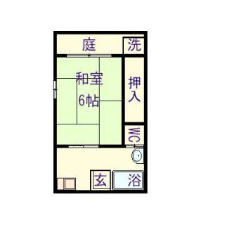 松山市大可賀2 1Kアパート
