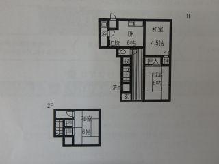松山市大可賀1 3DK一戸建て