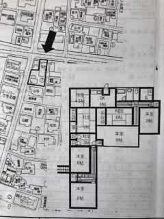 松山市大可賀2 7DK一戸建て
