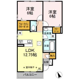 高知市大津乙 2LDKアパート