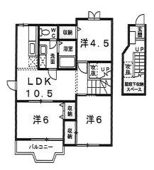 吾川郡いの町枝川 3LDKアパート
