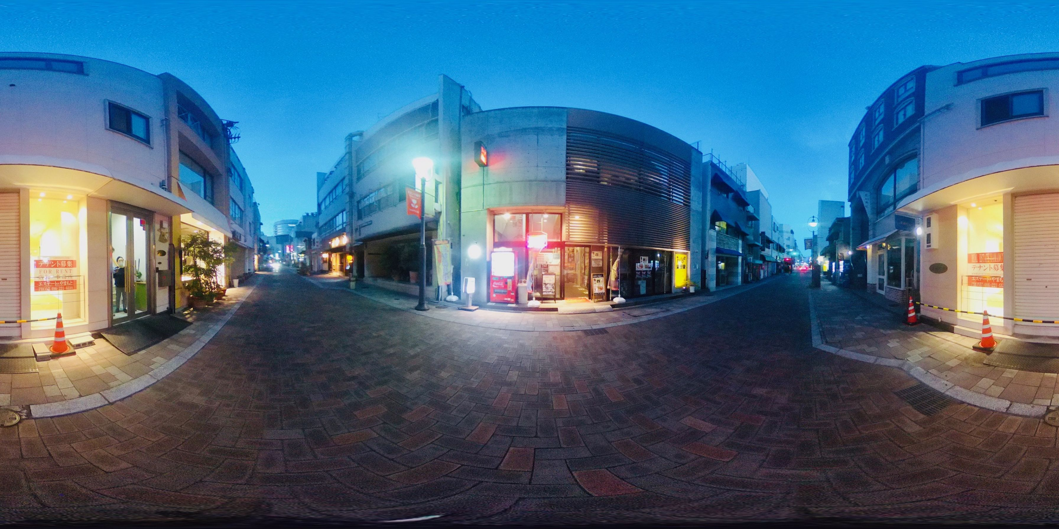 岡山市北区表町1 賃貸店舗 -パノラマ画像