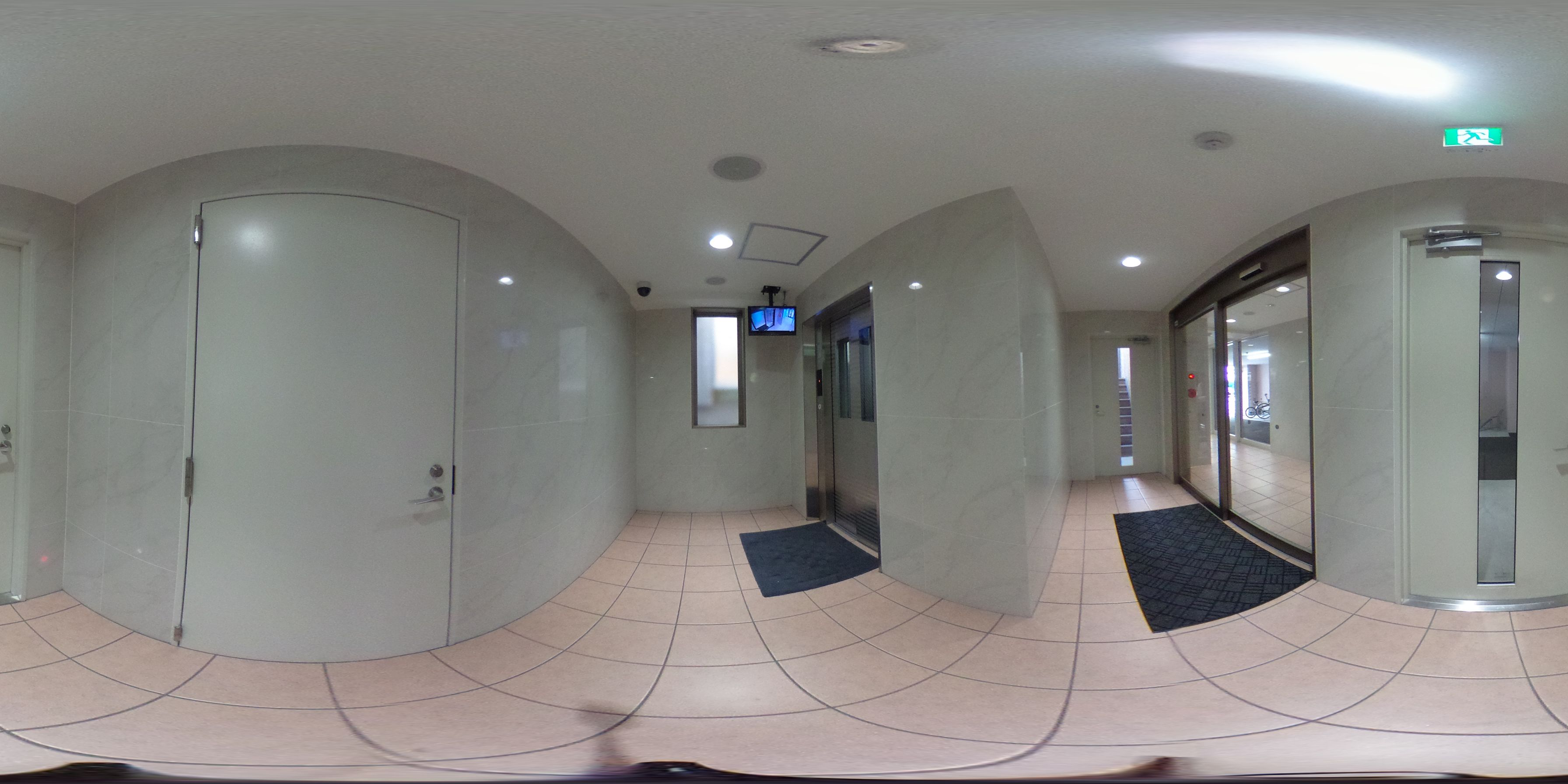 岡山市北区鹿田町2丁目 賃貸マンション 1LDKパノラマ画像