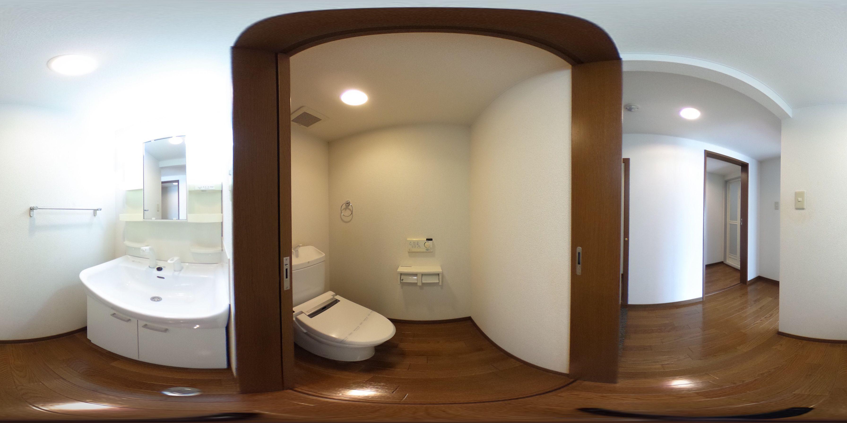 徳島市中徳島町 賃貸マンション 1Kパノラマ画像