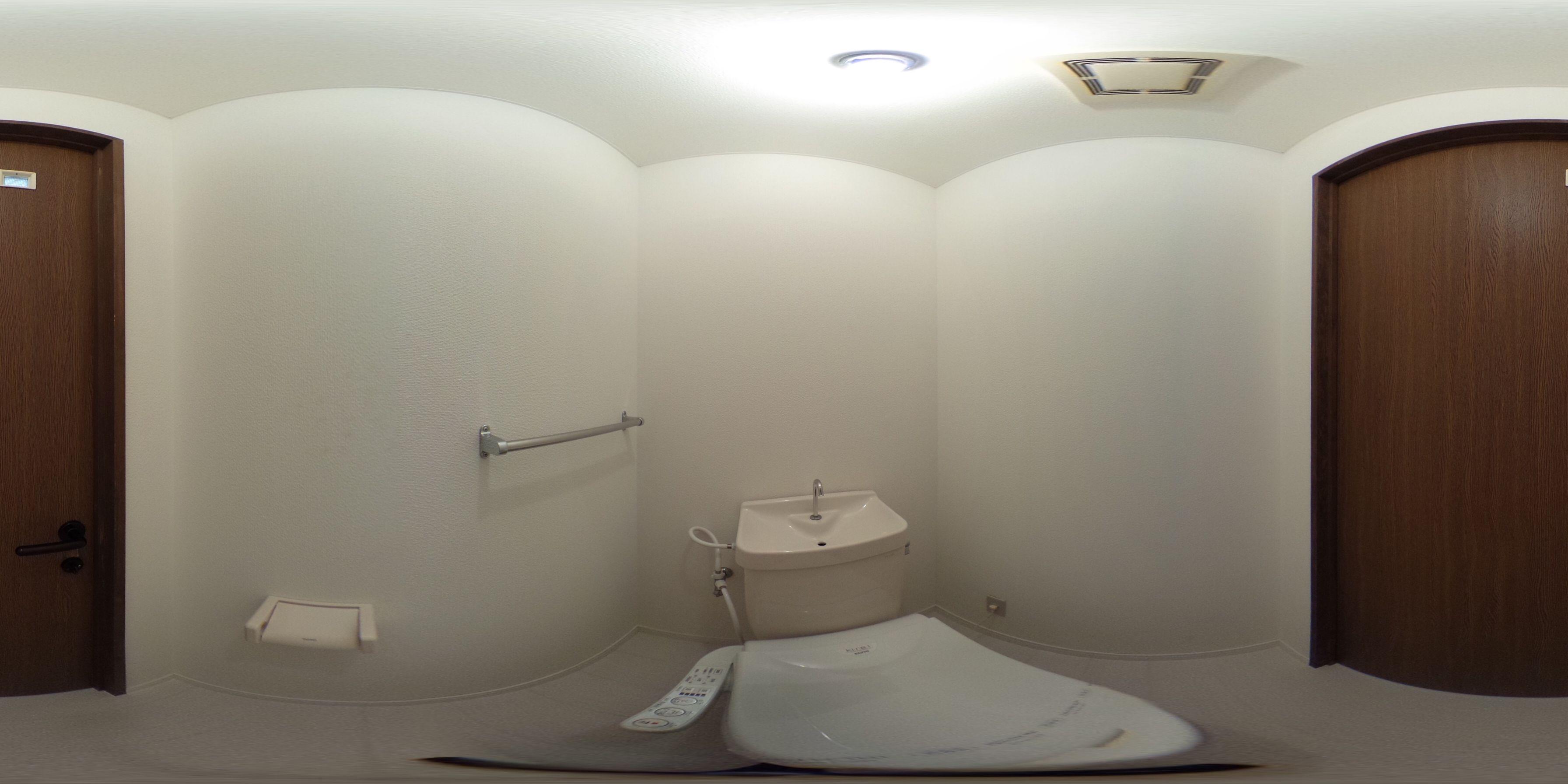 徳島市住吉 賃貸マンション 1DKパノラマ画像