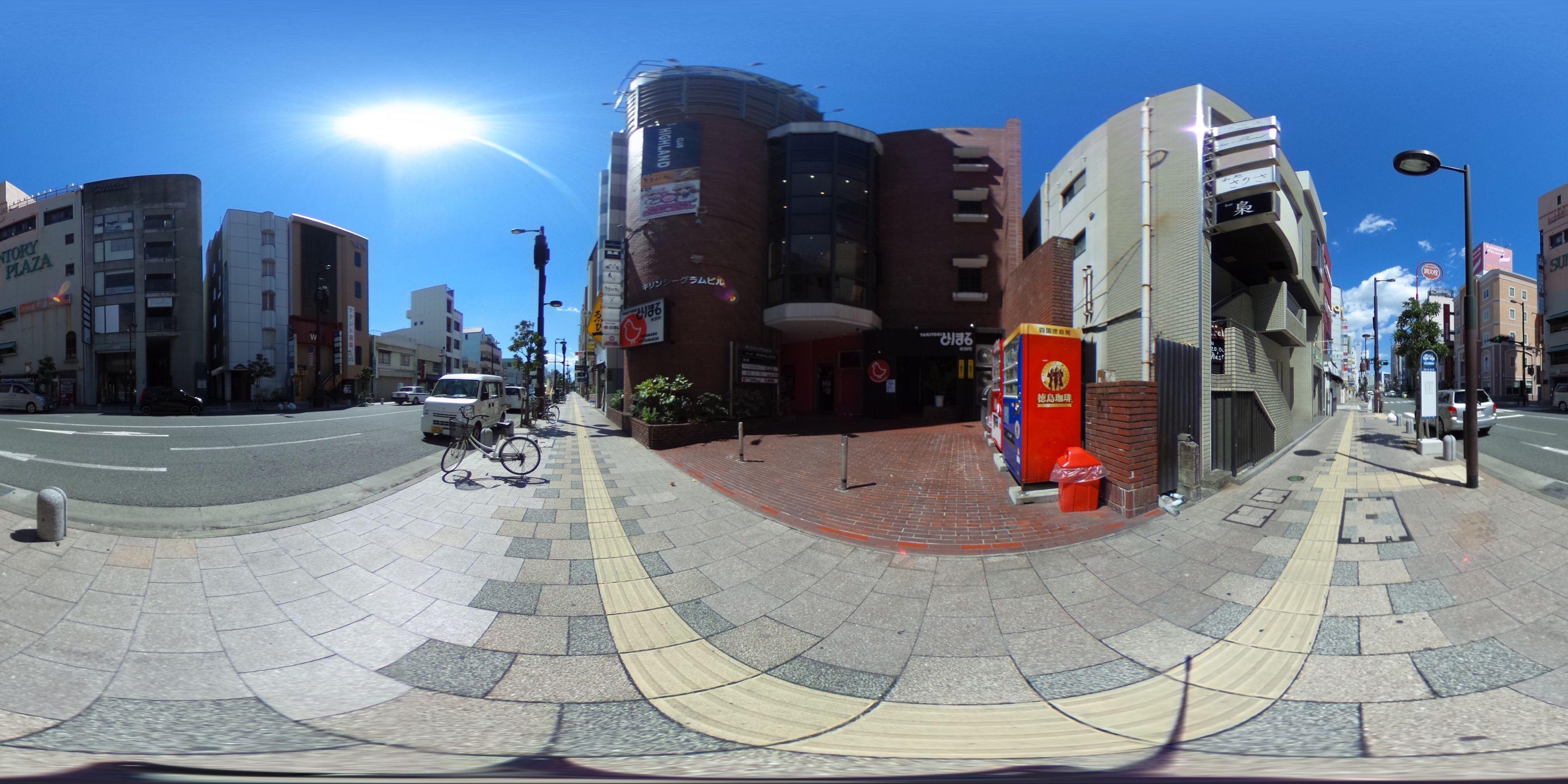 徳島市秋田町 賃貸店舗 -パノラマ画像