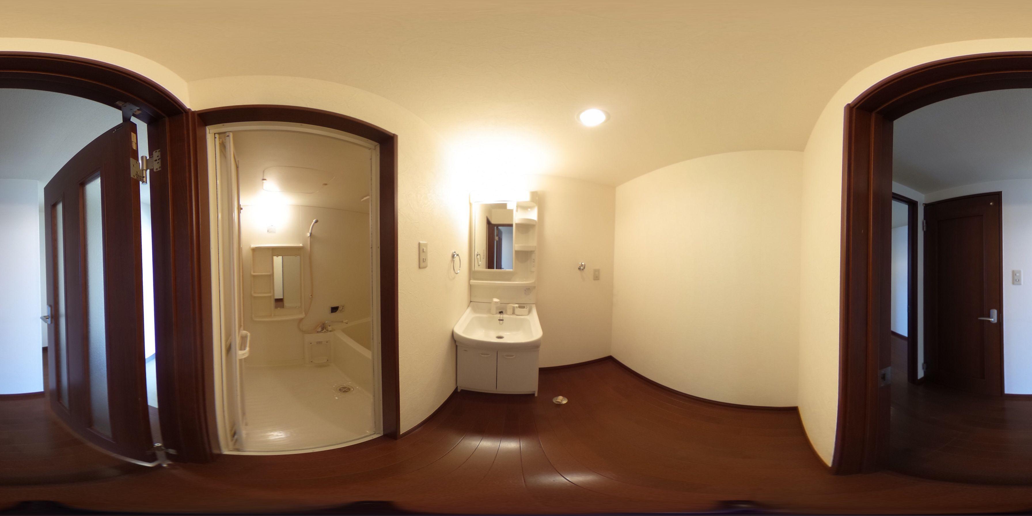 徳島市中前川町 賃貸マンション 1Rパノラマ画像