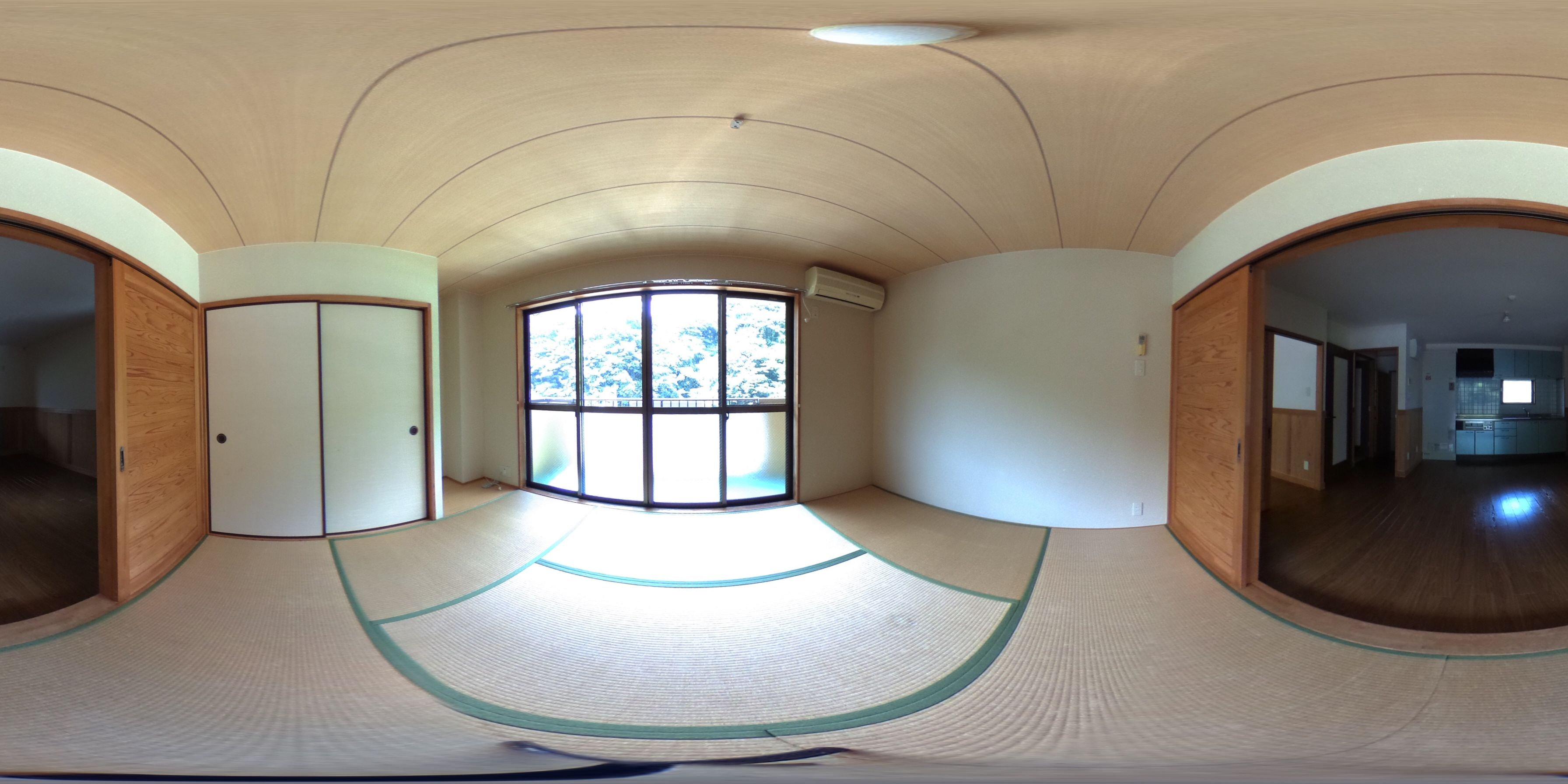 高岡郡津野町姫野々 賃貸マンション 2LDKパノラマ画像